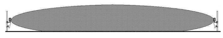 Примерный вид формы ЗО радиоволнового извещателя
