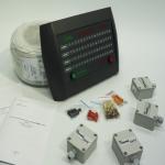 Система охранной сигнализации вибрационного типа ПАУК-64