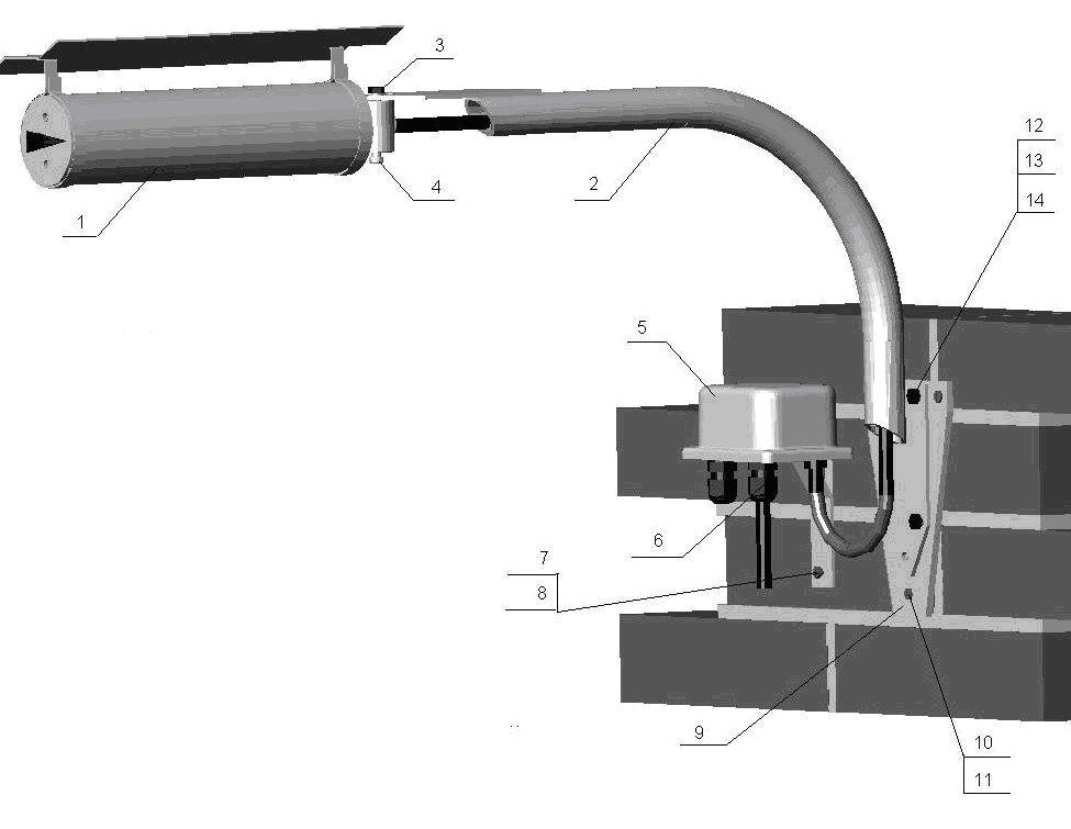 КМЧ-2, комплект монтажных частей